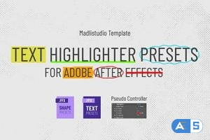 Videohive Text Highlighter Presets 28871094