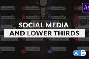 Videohive Social Media and Lower Thirds Pack 26760285