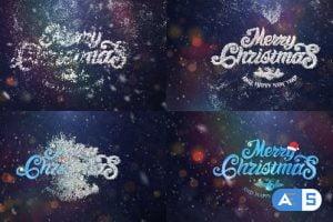 Videohive Christmas Logo 29549737