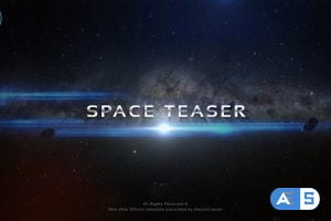 Videohive Space Intro 27659698