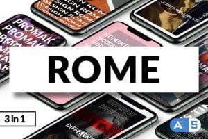 Videohive Rome | Instagram Stories 25672868