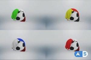 Videohive Football Flag Logo – Soccer 30569990