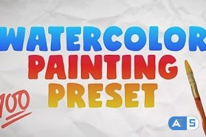 Videohive Watercolor Painting Preset 28737316