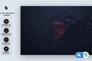 Videohive Dark Tear Logo Reveal 24730078