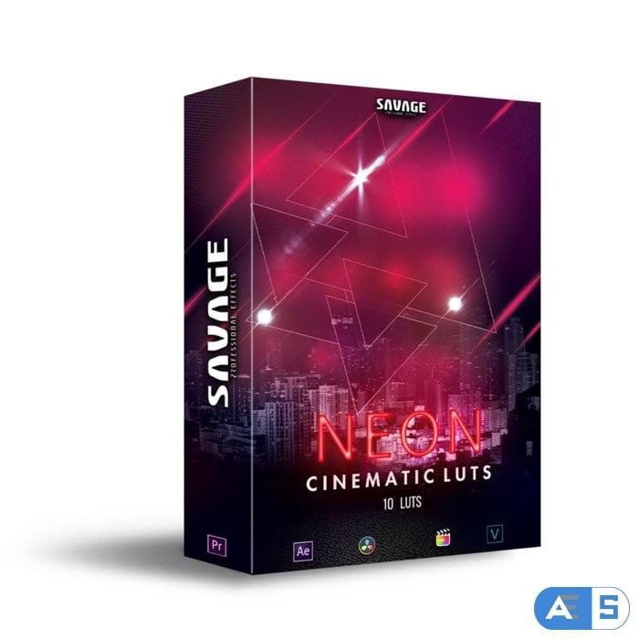 SavageLUTS – NEON CINEMATIC LUTS   PACK