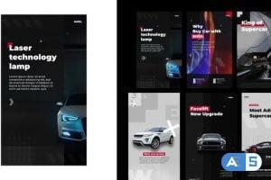 Videohive Auto stories instagram 30629898