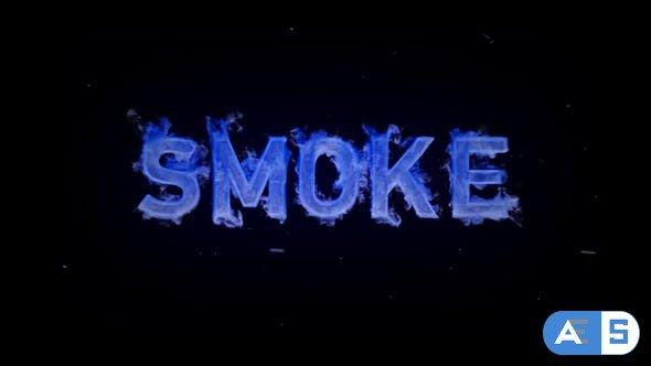 Videohive Smoke Text Fx 31150045