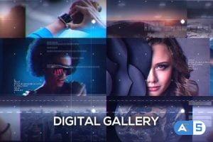 Videohive Digital Gallery 18255019