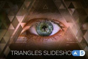 Videohive Triangles Slideshow 19227903