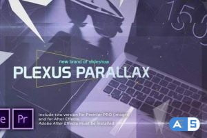 Videohive – Plexus Parallax Slideshow | Opener – 31083394