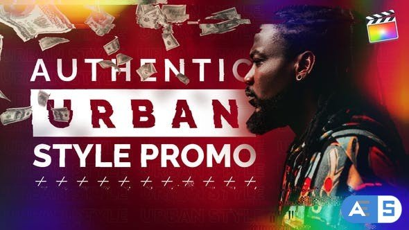 Videohive Authentic Urban Style Promo | For Final Cut & Apple Motion 30945580