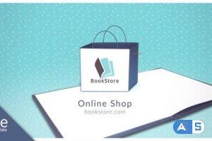 Videohive Bookstore Logo 31288078