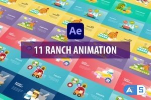 Videohive Ranch Animation | After Effects 31282292