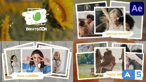 Videohive Photo Collection Slideshow | After Effects 31136674