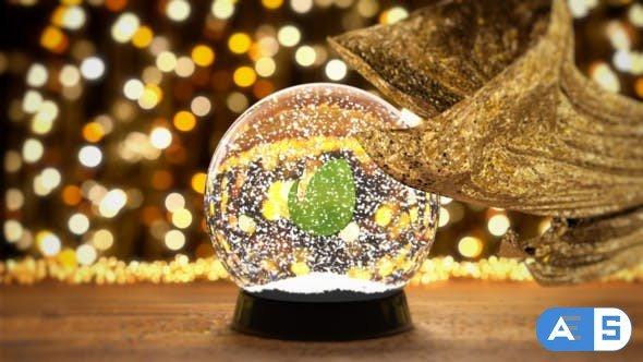 Videohive Christmas Snow Globe 29112935