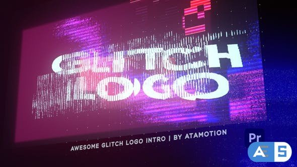 Videohive Glitch Distortion Intro Logo 30854135