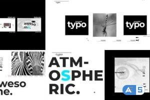 Videohive Atmospheric Typo Opener 24835855