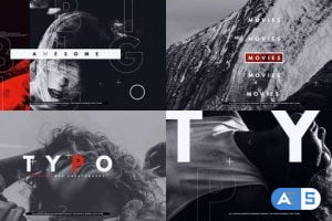 Videohive Typo Abstract Opener 29055666