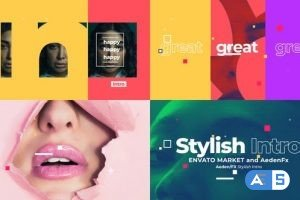 Videohive Abstract Stylish Intro 29268872