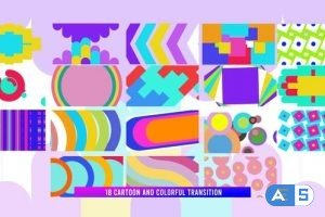 Videohive Colorful Transition Pack 28485748