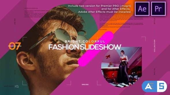 Videohive Bright Colorful Fashion Slideshow 30975120
