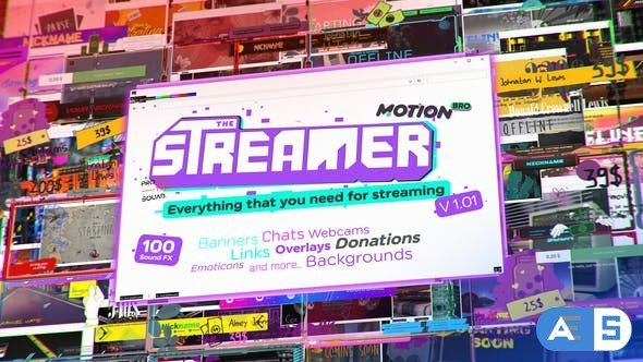 Videohive The Streamer | Everything for Web Twitch Youtube Live 29436832