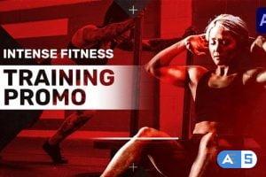 Videohive Intense Fitness Training Promo 30594600