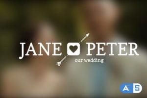 Videohive Wedding Titles 11804990