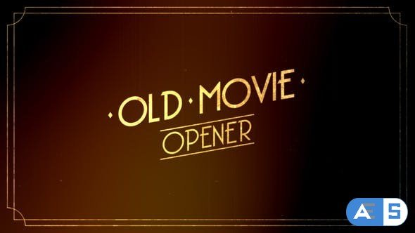 Videohive Old Movie Intro 30507106