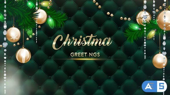 Videohive Luxury Greeting Christmas 25107386