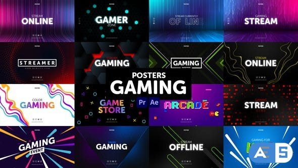 Videohive Posters Gaming 30898814