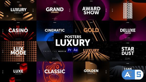 Videohive Posters Luxury 30982981