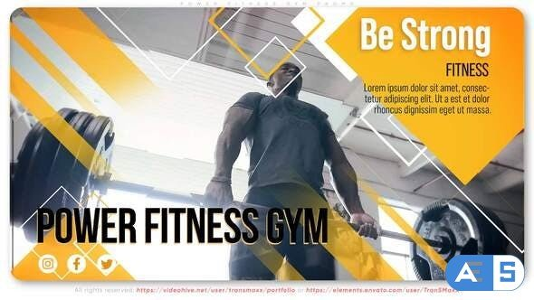 Videohive Power Fitness Gym Promo 30985499