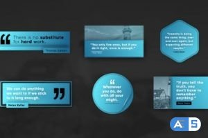 Videohive Creative Quote Titles 31023327