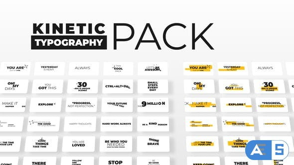 Videohive Kinetic Typography | Dancing Texts 29462698