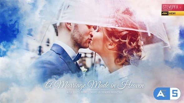 Videohive Marriage Made in Heaven | Wedding Invitation | Wedding Opener | Wedding Slideshow 30552974