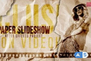 Videohive Paper Slideshow | Stop Motion 30750687