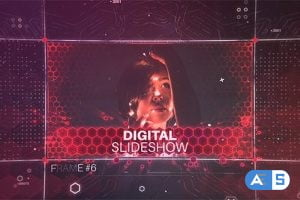 Videohive Digital Slideshow 20836699