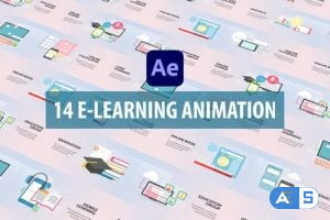 Videohive E-Learning Animation   After Effects 30951753
