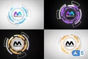 Videohive Tech Ball Logo Reveal 31061334