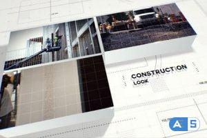Videohive Construction 3D Slideshow 20986827