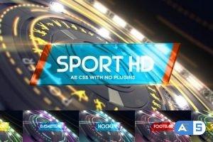 Videohive 6 in1 Multi-Sport Intro Pack 19968949