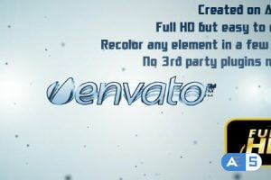 Videohive Elegant Rolling Text&Logo 2502517