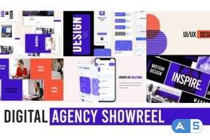 Videohive Digital Agency Web Showreel 29506116