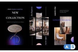 Videohive Exclusive furniture stories instagram 30758011