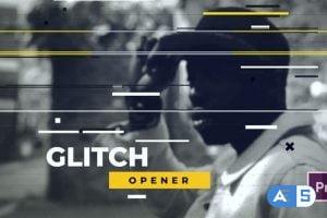 Videohive Dynamic Glitch Opener 22293187