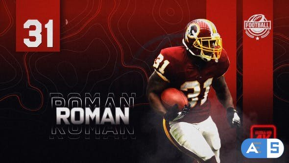 Videohive Sport Team Player Introducing // Team Intro 30617149