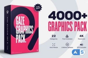 Videohive – Graphics Pack // 4000+ Animation Pack V4.5 – 25010010