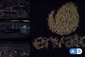 Videohive Dark City Logo Intro 21223646