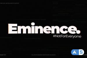 Videohive Eminence   Glitch Logo 24990819